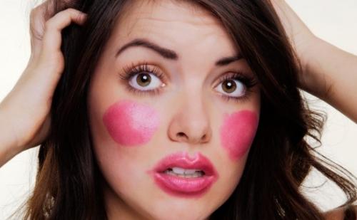 errori da evitare nel make up, come applicare il fard, make up, bellezza, trucco, errori trucco,